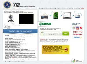 Ransomware Screen